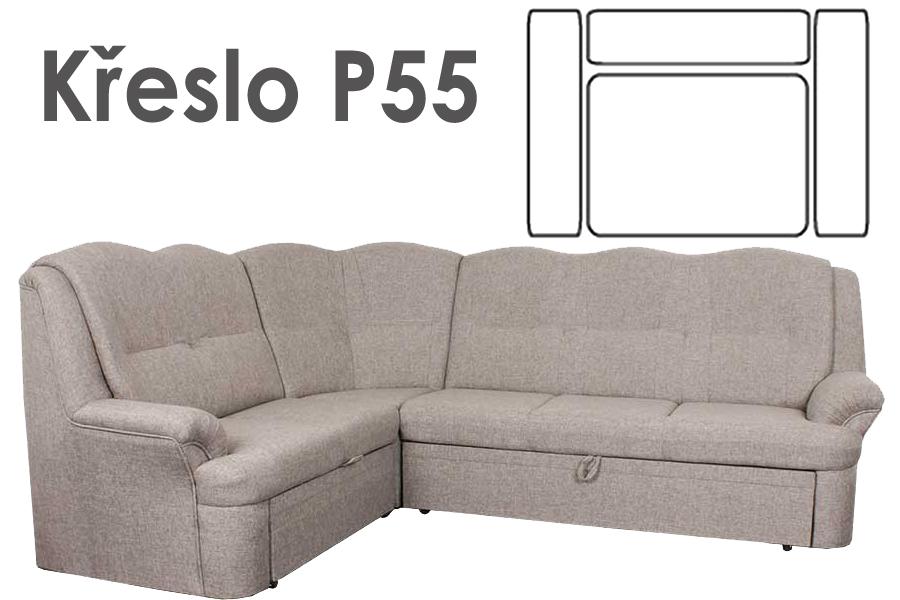Kreslo BONDY - P55