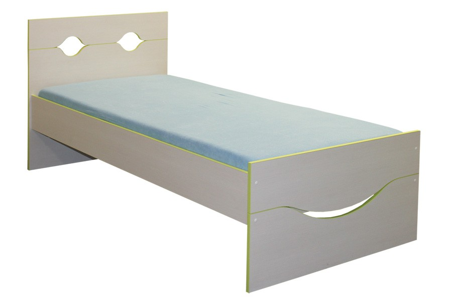 Detská posteľ 90 x 200, usmievavá CASPER - C108