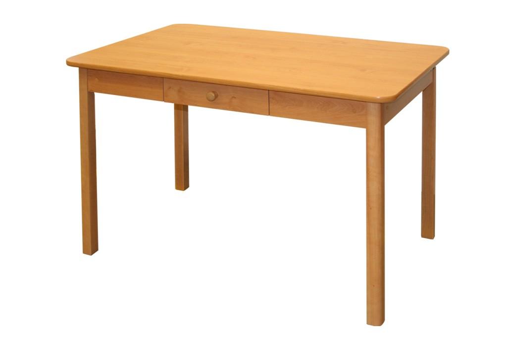 Jedálenský stôl 70x110 MILOŠ (šuplík) - S02