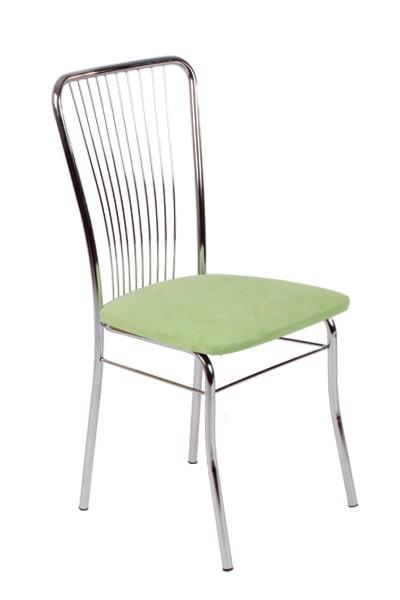 Jedálenská stolička LAURA, chrómovaná - Z60