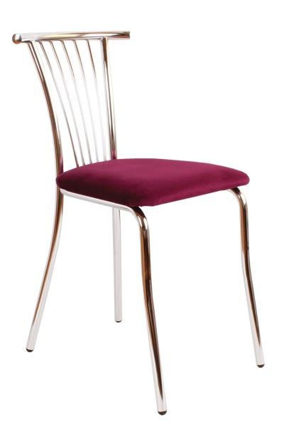 Jedálenská stolička TAMARA, chrómovaná - Z79