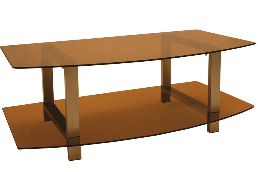TV stolík LCD, sklo dymové / 2ks bal./ - T81