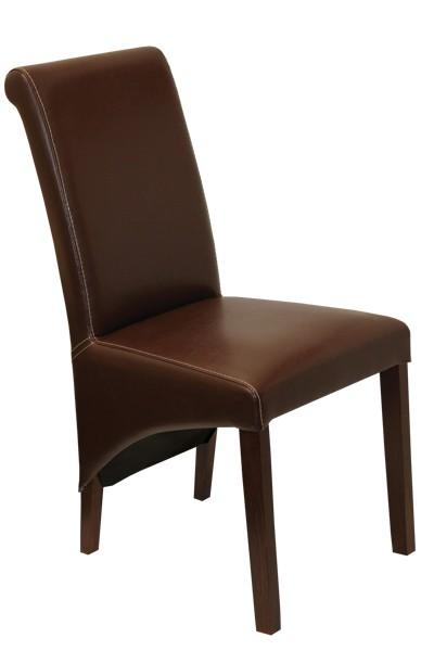 Stolička LEONA, masív buk - Z117