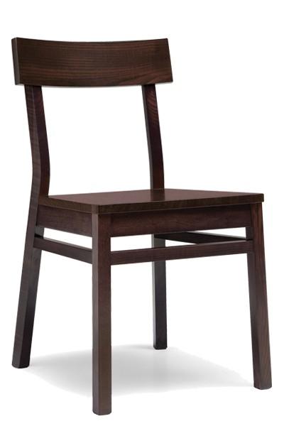 Drevená stolička celodrevená Otylia, masív buk - Z512