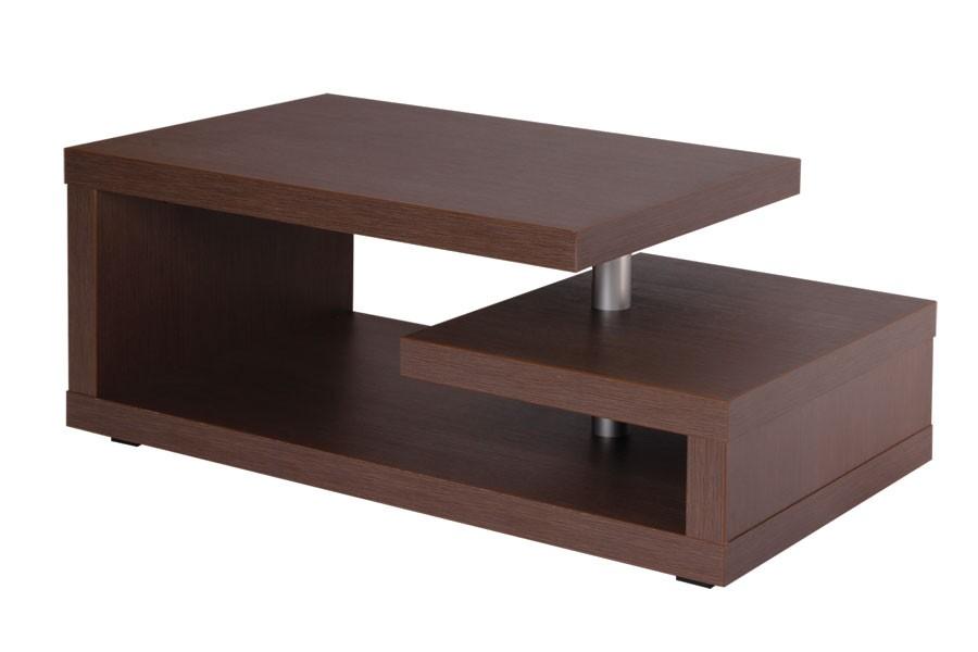 Konferenčný stolík TONDA, obdĺžnik, kolieska - K119