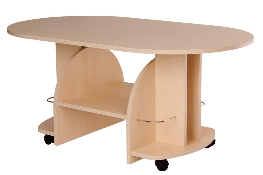 Konferenčný stolík VÍT, oválny - K12