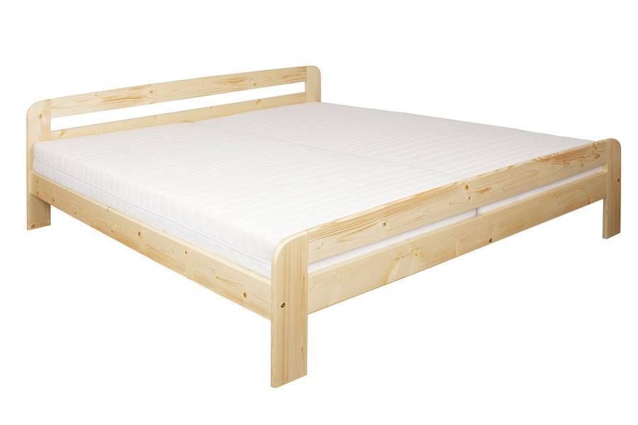 Manželská posteľ 180 x 200, masív smrek - B454