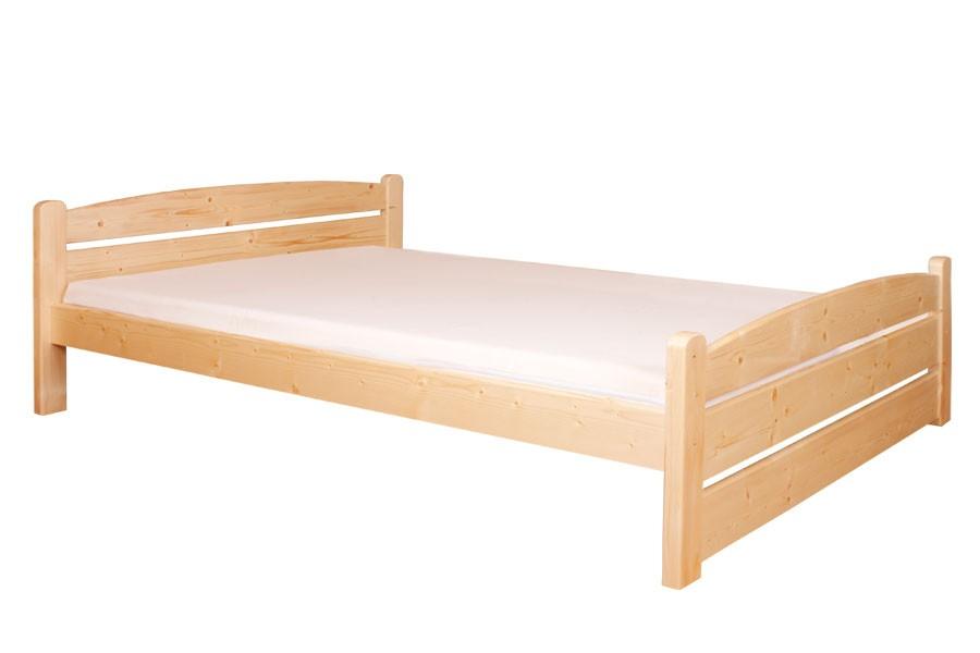 Manželská posteľ 160 x 200, masív smrek - B458