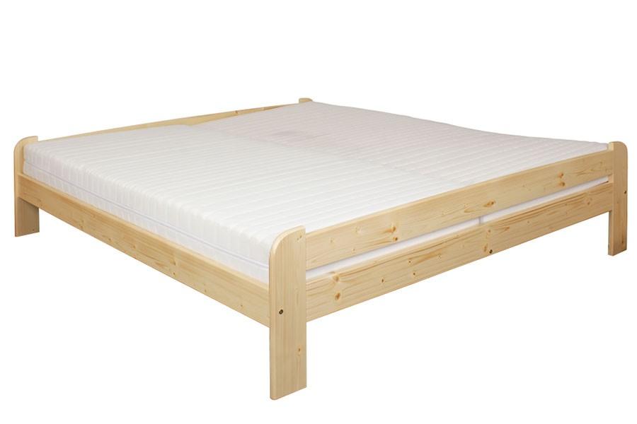 Manželská posteľ 160 x 200, masív smrek - B463