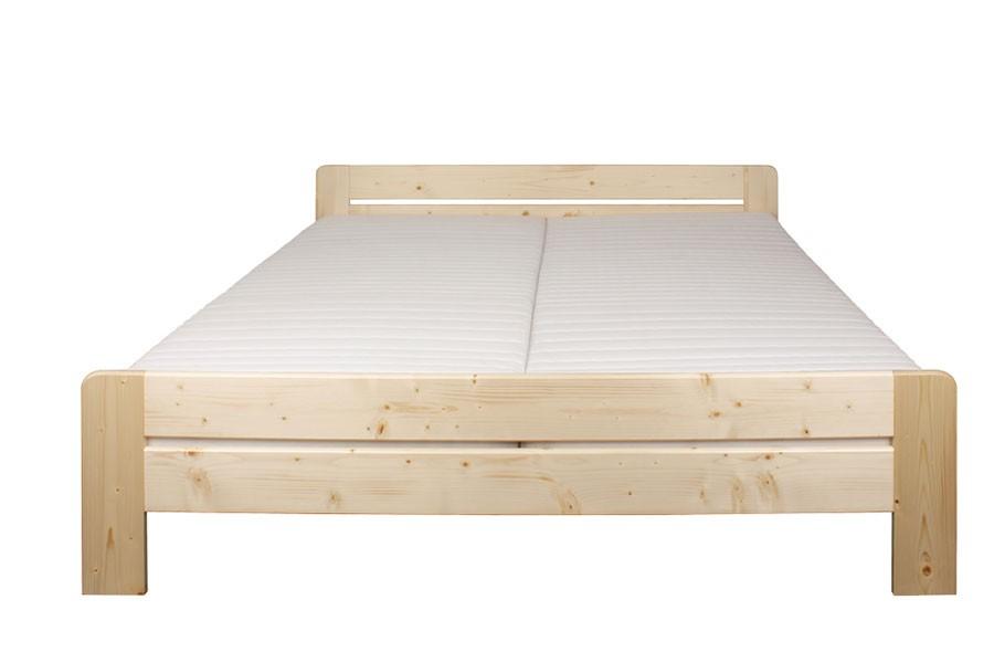 Manželská posteľ 200 x 200, masív smrek - B472
