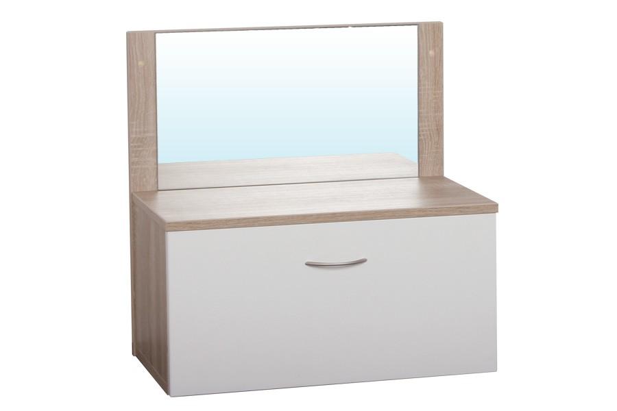 Zásuvka so zrkadlom CUBE - D308