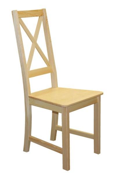 Jedálenská stolička celodrevená TINA, masív borovica - B165
