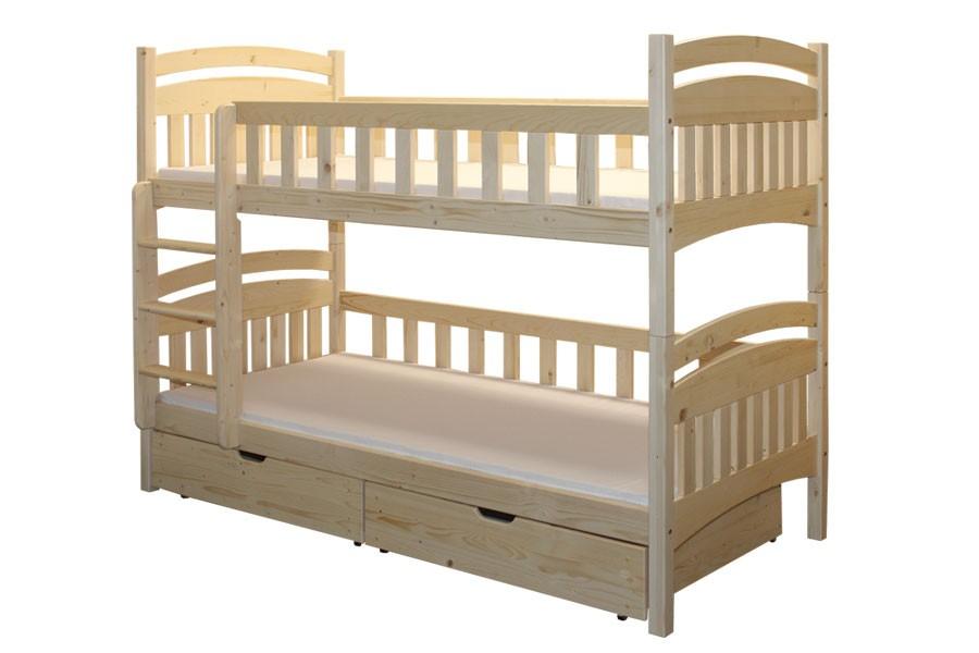 Poschodová posteľ HONZÍK - B402-90x200