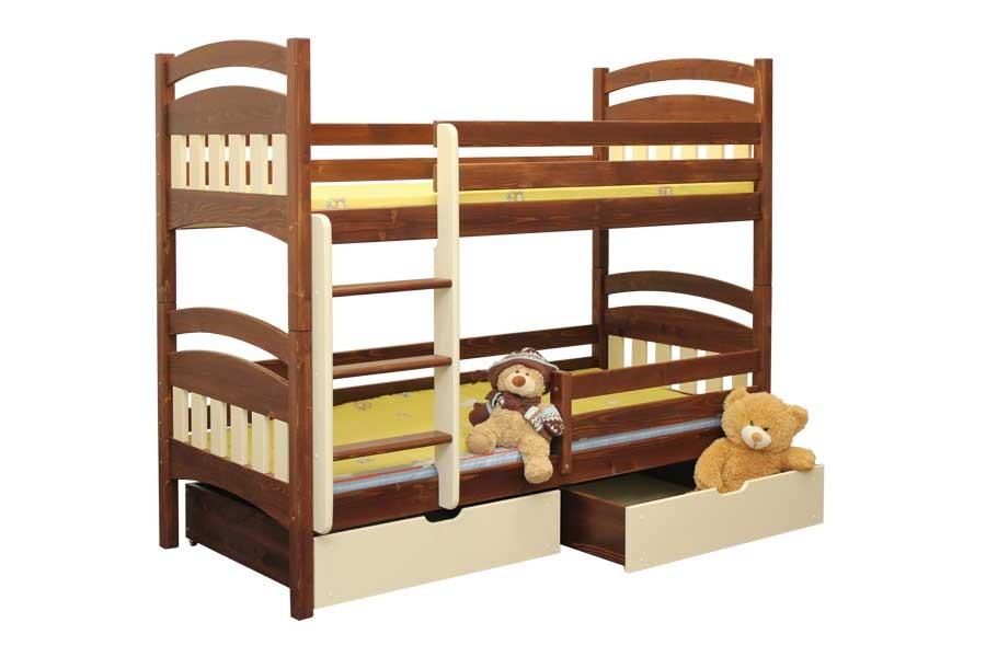 Poschodová posteľ Matýsek - B404-90x200