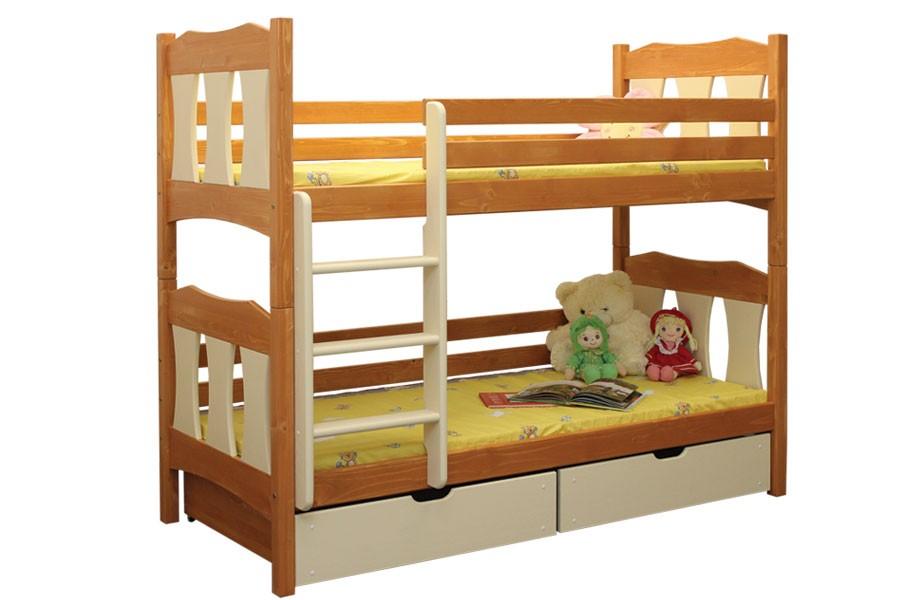 Poschodová posteľ Vojtisek - B407-90x200