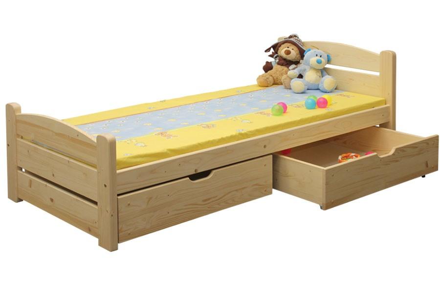 Detská posteľ EMCA (90x200 cm) - B439-90x200