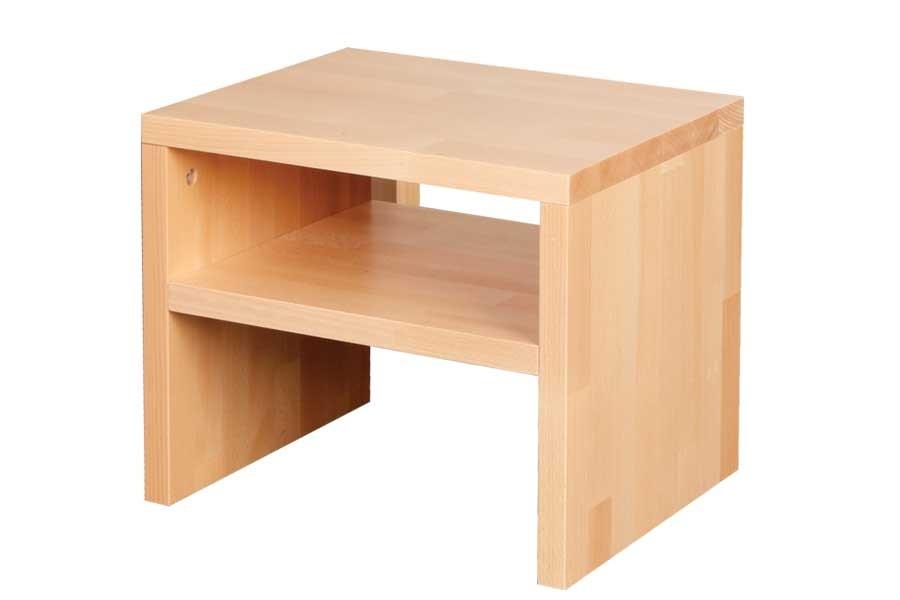 Nočný stolík OSKAR, buk - L015