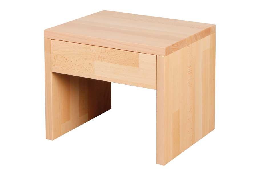 Nočný stolík so zásuvkou VÍTEK, buk - L016