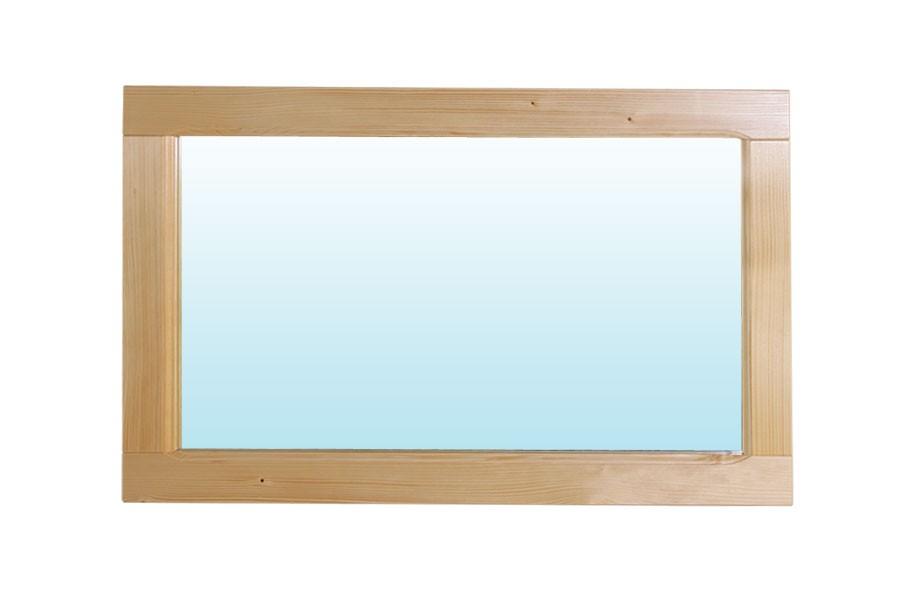 Zrkadlo 85 x 45, borovica - B190