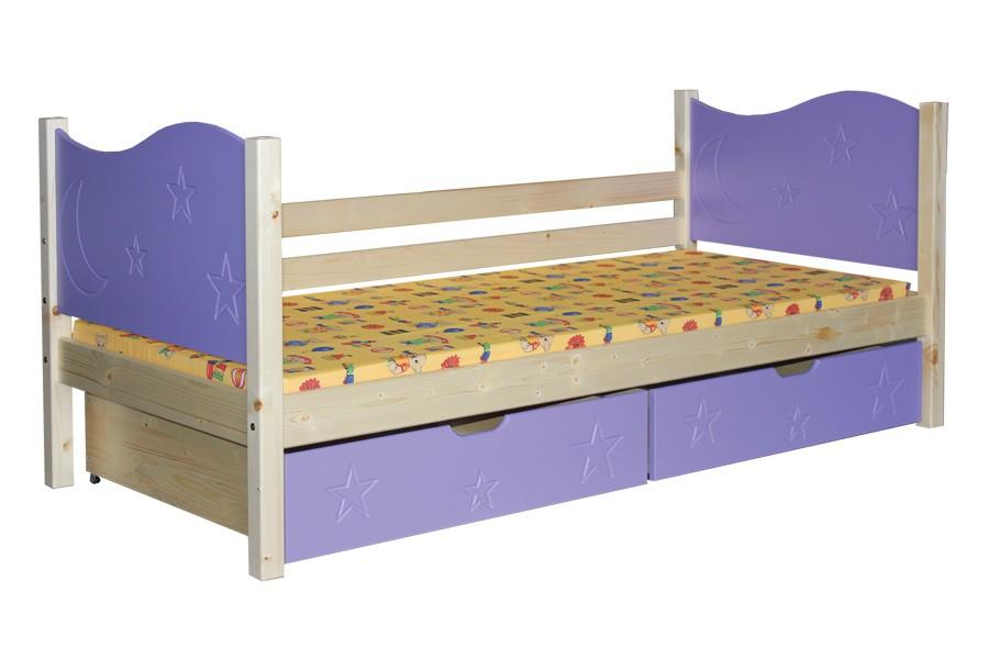 Detská posteľ ZORA (80x180cm) - B444-80x180
