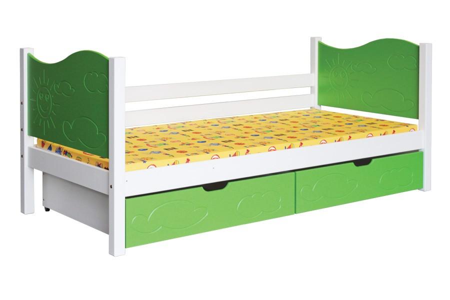 Detská posteľ NICOL (80x180cm) - B445-80x180