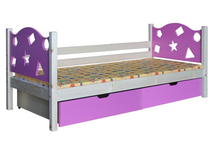 Detská posteľ VIOLA (90x200 cm) - B446-90x200