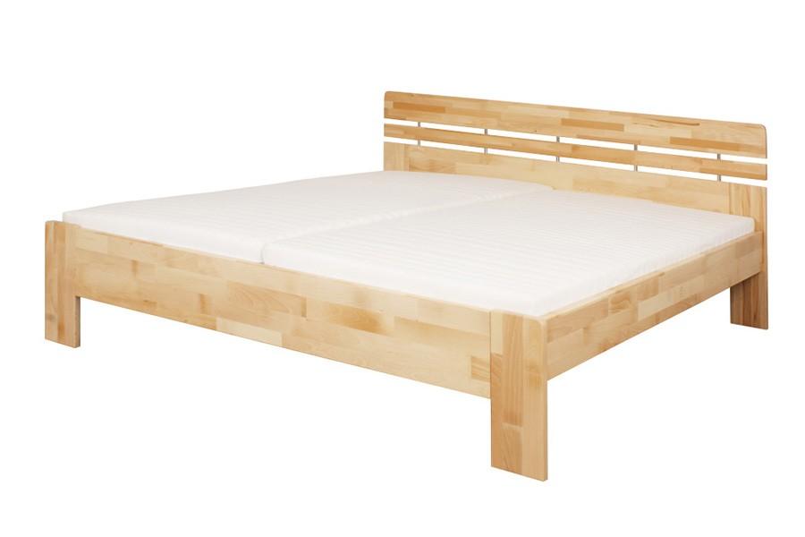 Manželská posteľ DANIELA 160 x 200, masív buk - L045