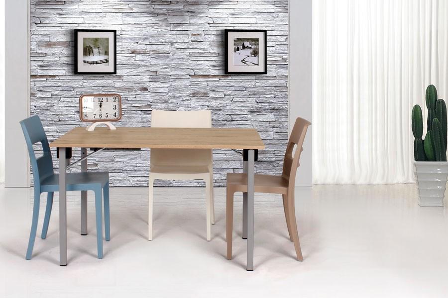 Skladací stôl TRANSFORMER 120x80 zostavy Office - S135