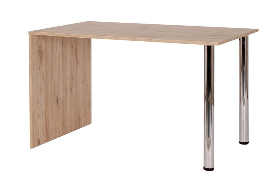 Jedálenský stôl KRYŠTOF 120x80, nohy chróm - S136-120