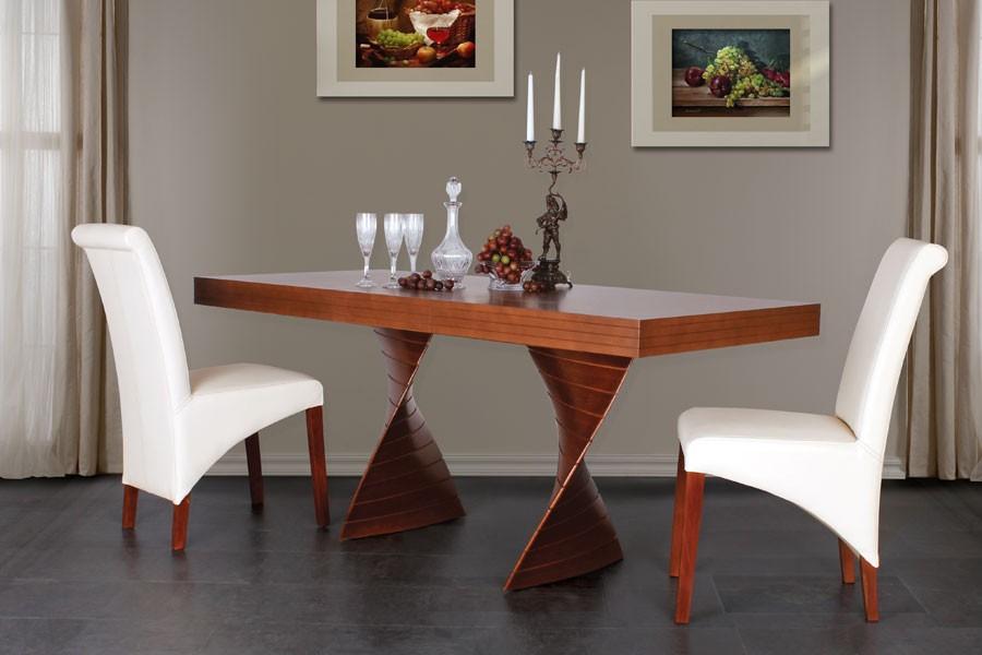 Jedálenský stôl FREDO, rozkladací 140 / 180x80 - S181-140