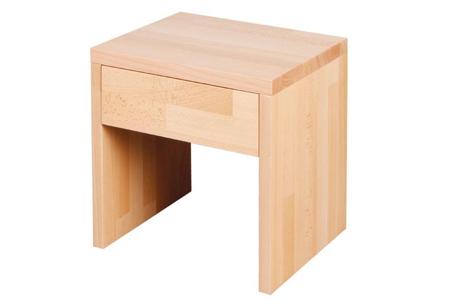 Nočný stolík so zásuvkou VÍTEK 2, buk - L018