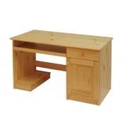 Písací stôl, dvierka + 1 zásuvka - B042