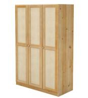 Nádstavec šatní skříně, RATAN, dvojdveřový - B123