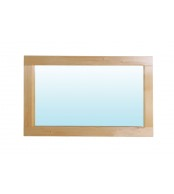 Zrkadlo 125 x 45, borovica - B191