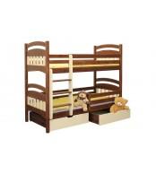 Poschodová posteľ Matýsek (základné prevedenie) - B404-80x180