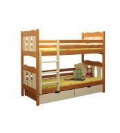 Poschodová posteľ Vojtíšek (základné prevedenie) - B407-80x180