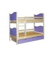 Poschodová posteľ MARIO (základné prevedenie) - B410-80x180