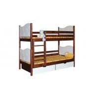Poschodová posteľ TIBOR (základné prevedenie) - B411-80x180