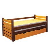 Detská posteľ ANIČKA, dvojposteľ (posteľ s prístelkou) - B433-80x180