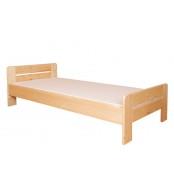 Jednolôžková posteľ 80 x 200, masív smrek - B465