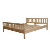 Manželská postel 180 x 200, masiv smrk - B494