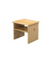 Nočný stolík, masív smrek - B711