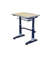 Písací stôl, Školská lavica, výškovo nastaviteľná, LAVICE, KTORÁ RASTIE S DEŤMI - C301