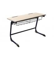 Písací stôl, Školská lavica, pevná veľká, VHODNÉ PRE ZARIADENIE ŠKÔL - C306