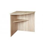 Rohový stôl 70x70 zostavy Office - C543