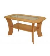 Konferenčný stolík FILIP, so sklom - K10