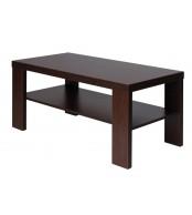 Konferenčný stolík ZBYNĚK, obdĺžnik, police - K117