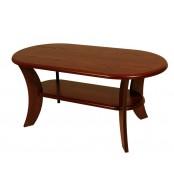 Konferenčný stolík ROMAN, oválny, MDF - K52