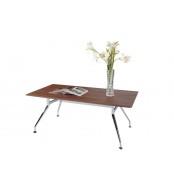 Konferenční stolek obdélník, nohy chrom - K71