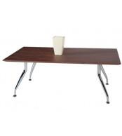 Konferenční stolek obdélník, nohy chrom - K72